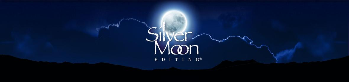 Banner picture for the Contact Page for Silver Moon Editing